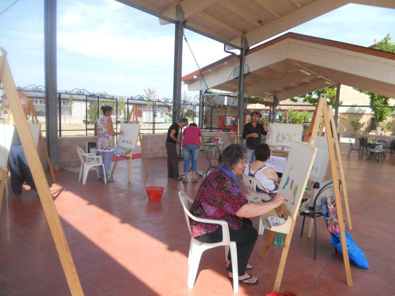 Il seminario estivo di Pittura a cura del Maestro Stefano Bernardelli