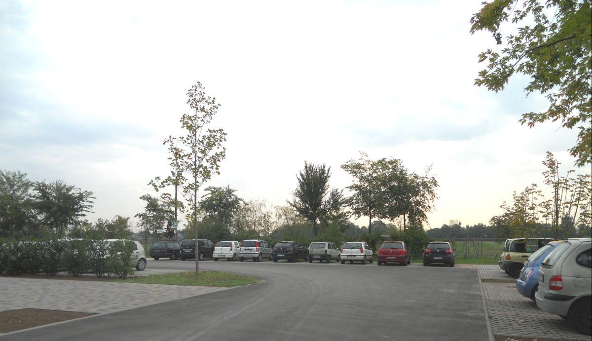 La disponibilità di un ampio parcheggio