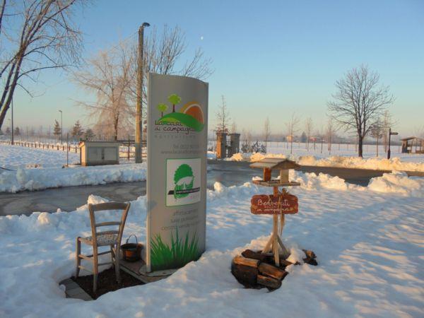 Il riverbero del sole sull'abbondante nevicata ci regala qualche foto specale....