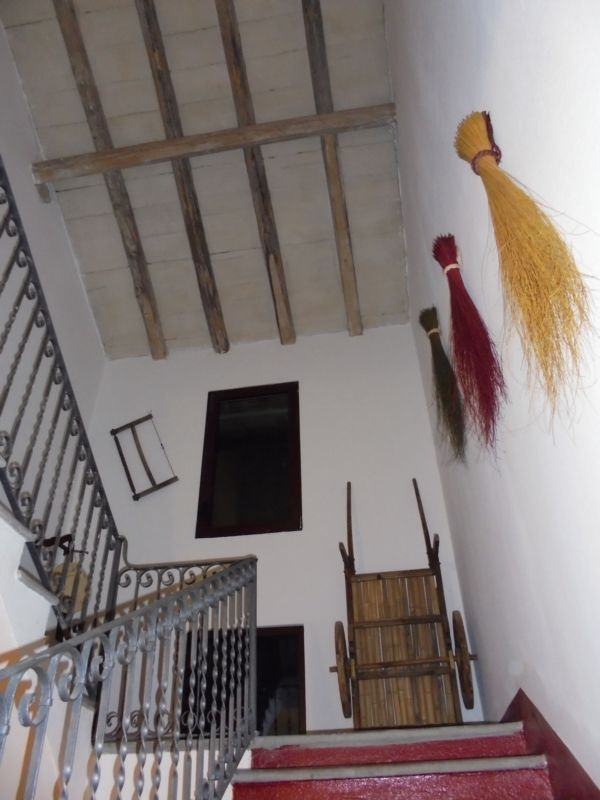 Anche la soffitta è rimasta così com'era....
