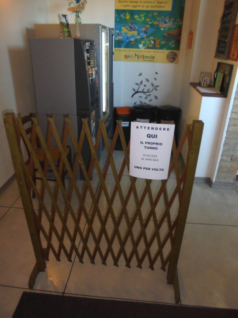 Il mini Bar automatico per la pausa-caffè, regolamentata