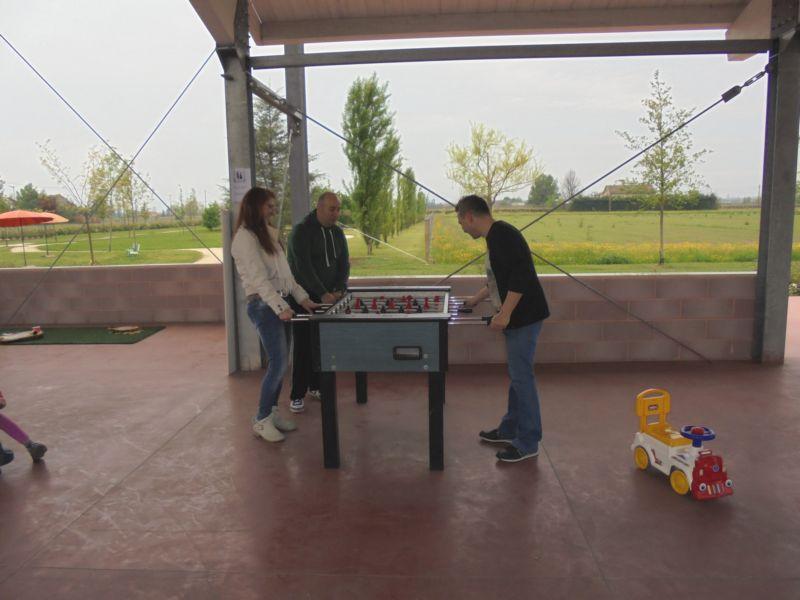 Bigliardino e ping pong sono i classici che piacciono molto... ai genitori !