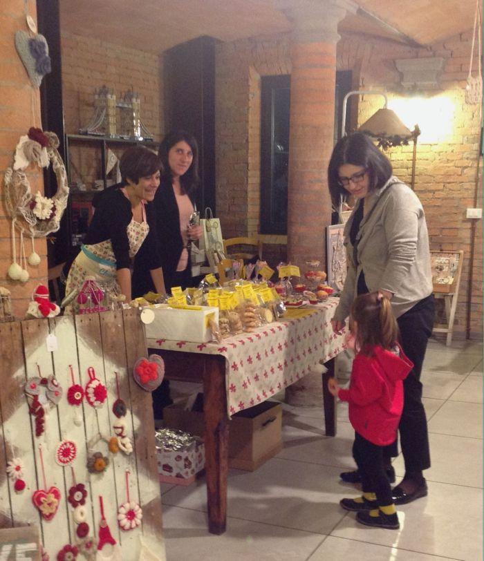 I dolcetti e biscotti  erano veramente buoni ma anche molto graziosi da vedere. Parola di bimbo!