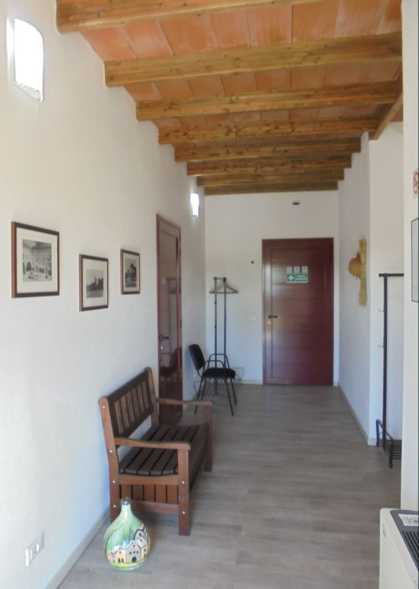 L'ingresso alla sala